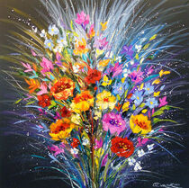 Bouquet of flowers for happiness von Olha Darchuk