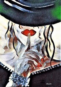 Mystery Woman by eloiseart