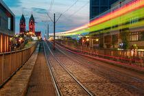 Stadtbahnbrücke Freiburg von Patrick Lohmüller