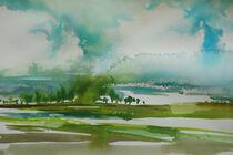 Grüne Landschaft von Sonja Jannichsen