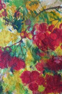 Rote Trauben von Sonja Jannichsen