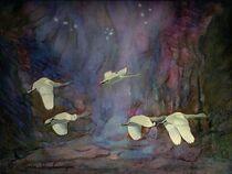 Wildgänse rauschen durch die Nacht von Marie Luise Strohmenger