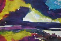 Farbspiel mit Wolken von Sonja Jannichsen
