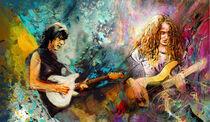 Jeff Beck And Tal Wilkenfeld Madness von Miki de Goodaboom