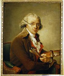 Portrait of Francois-Andre Vincent  by Adelaide Labille-Guiard