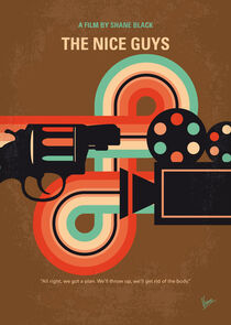 No1180 My The Nice Guys minimal movie poster by chungkong