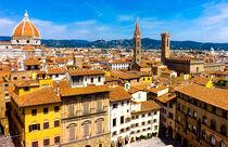 Florence Rooftops by Caroline Allen