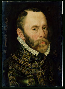 Portrait of Filips van Montmorency  von Adriaen Thomasz Key