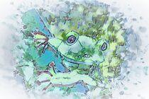 Resolute Frog von eloiseart