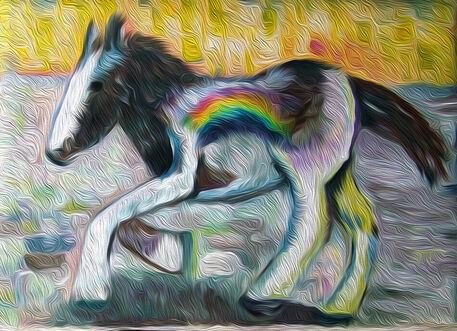 Etsy-horse