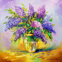 Bouquet of lilac in a vase von Olha Darchuk