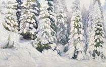 Winter Tale by Aleksandr Alekseevich Borisov