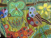 The Shift to Spirit Matter and Eternal Spring: detail by Rosie Jackson