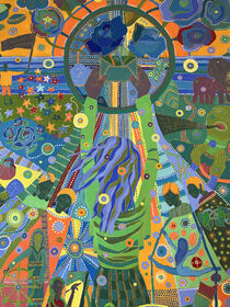 A MEETING OF THE STARS, detail von Rosie Jackson