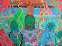 THE MESSENGERS OF LIGHT: Detail by Rosie Jackson