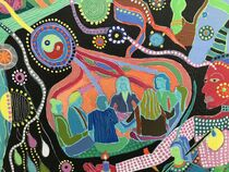 THE PEACE PARABLES, detail 2 by Rosie Jackson