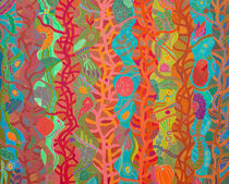 THE TRINITY, left panel von Rosie Jackson