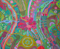 THE TRINITY, right panel, the Infinite Spirit by Rosie Jackson
