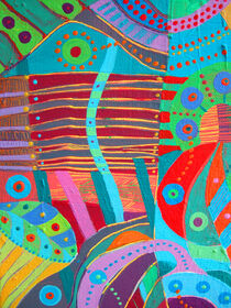 THE WORLD-VISION: abstract by Rosie Jackson