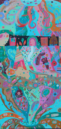 THE CREATIVE JOURNEY, detail 1 by Rosie Jackson