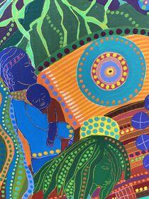 THE WORLD HARMONY, detail 2 von Rosie Jackson