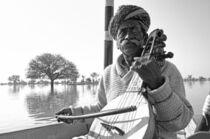Street musician Basu Khan by Nayan Sthankiya