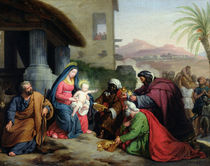 The Adoration of the Magi by Jean Pierre Granger