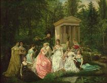 The Rose of Malmaison by Jean Louis Victor Viger du Vigneau