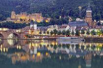 Heidelberg am Neckar von Patrick Lohmüller