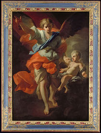 Guardian Angel by Andrea Pozzo