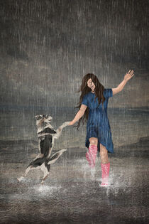Amor Fati or Dancing in the Rain by Paula  Belle Flores