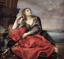 The Death of Dido  von Andrea Sacchi