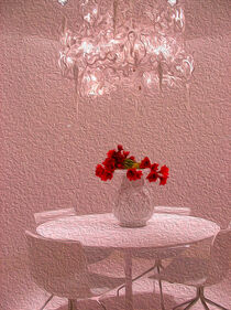 White table_pink version