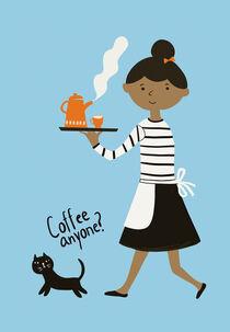 Coffee waitress by Elisandra Sevenstar
