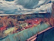 Blick auf Breitenbrunn  by Alexander Christian  Schilder