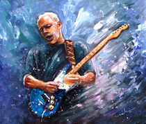 David Gilmour von Miki de Goodaboom