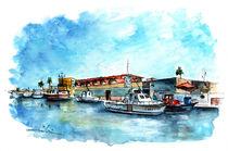 Fuengirola Harbour 01 von Miki de Goodaboom