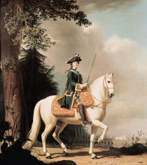 Equestrian Portrait of Catherine II  by Vigilius Erichsen