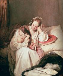 A Mother's Love von Josef Danhauser