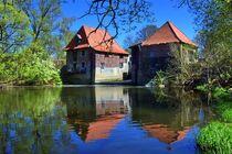 Wassermühle an der Stever von Edgar Schermaul