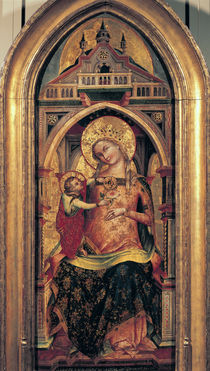 The Virgin and Child by Veneziano Lorenzo