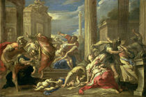 Massacre of the Innocents  by Valerio Castello