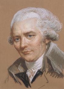 Portrait of Pierre Choderlos De Laclos  by Joseph Ducreux