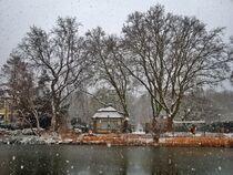 Winterlandschaft von Edgar Schermaul