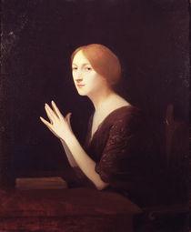 Portrait of Marguerite Moreno  by Joseph Granie