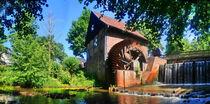 Wassermühle Sythen von Edgar Schermaul