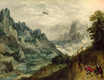 The Flight into Egypt von Tobias Verhaecht