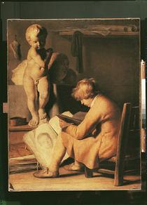 The Young Artist  von Jan the Elder Lievens