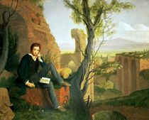 Percy Bysshe Shelley  by Joseph Severn