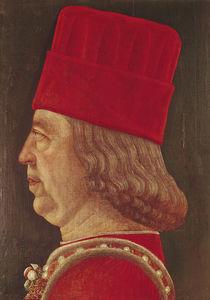 Portrait of Borso d'Este von Baldassare d' Este